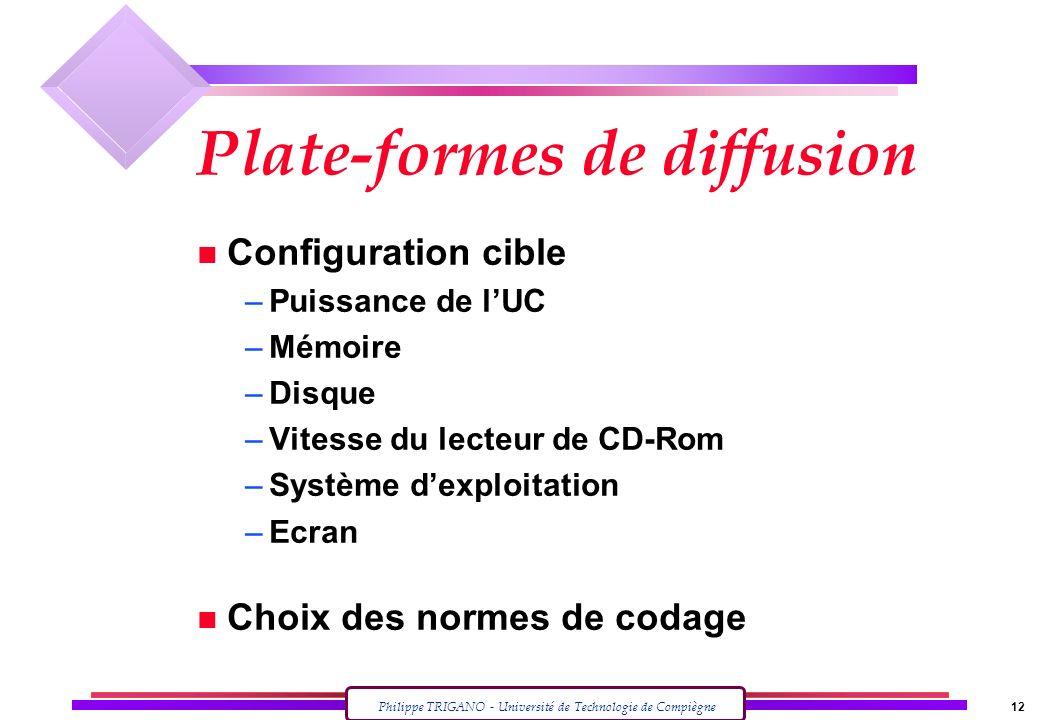 Plate-formes de diffusion
