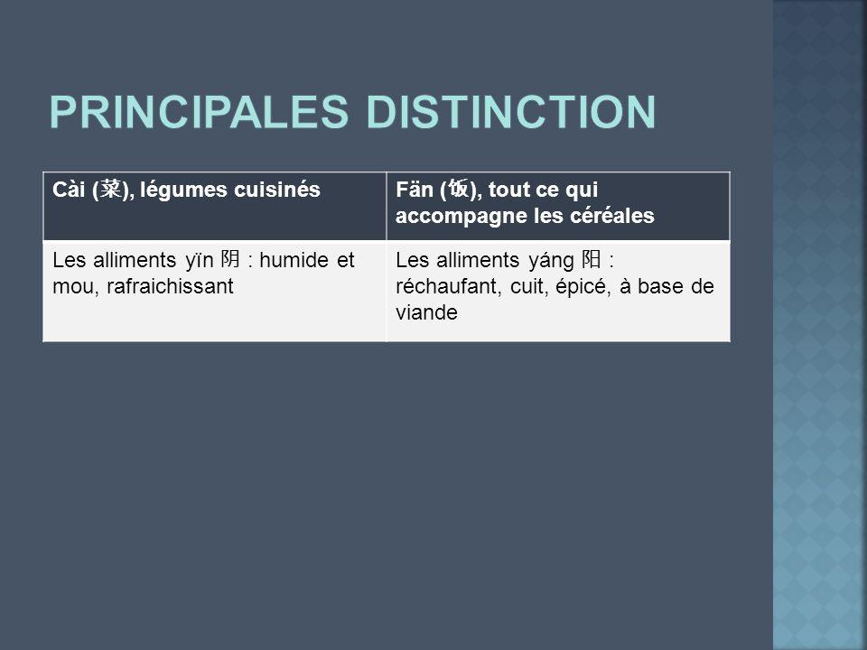 Principales distinction
