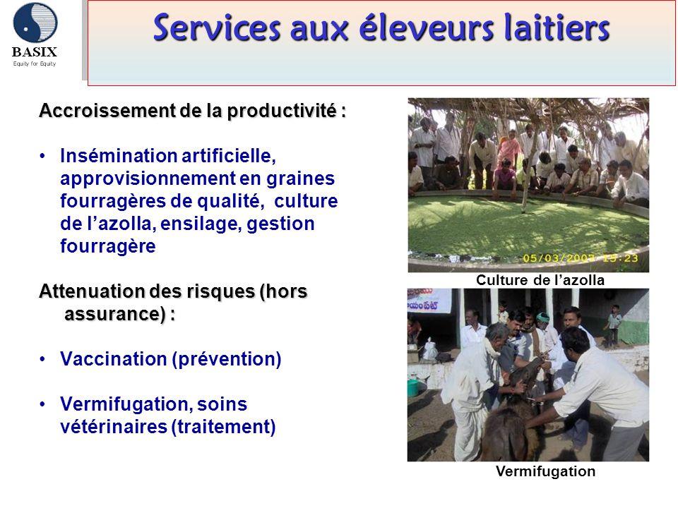 Services aux éleveurs laitiers