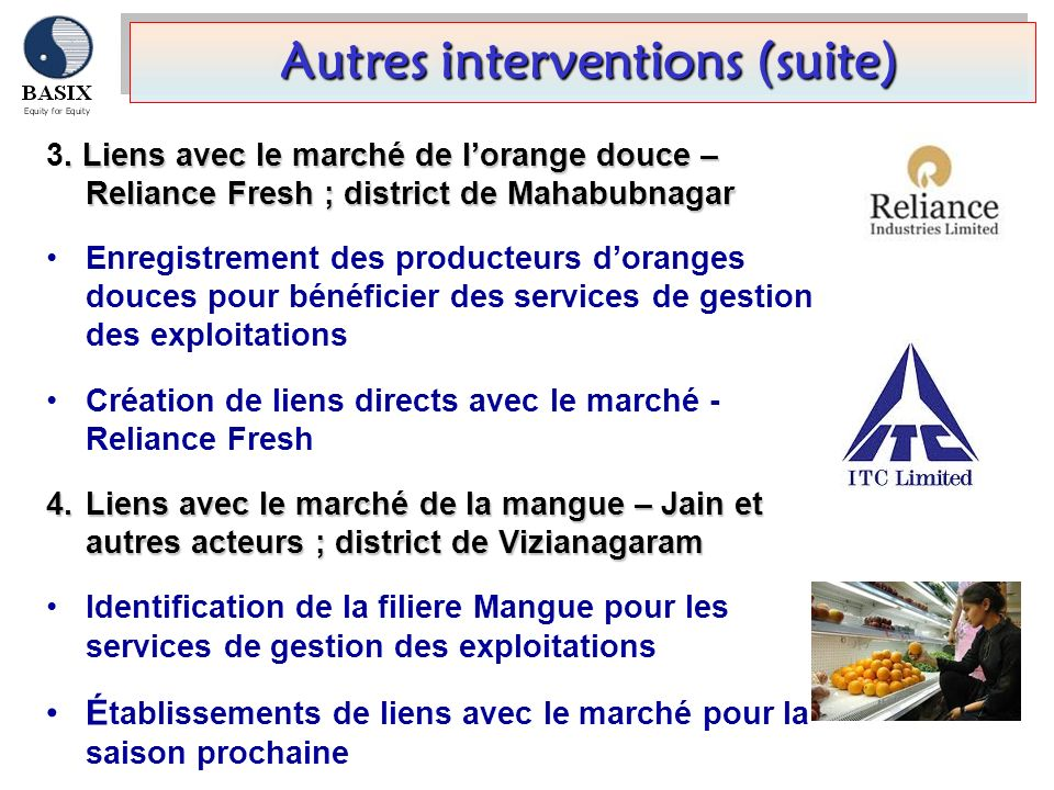 Autres interventions (suite)