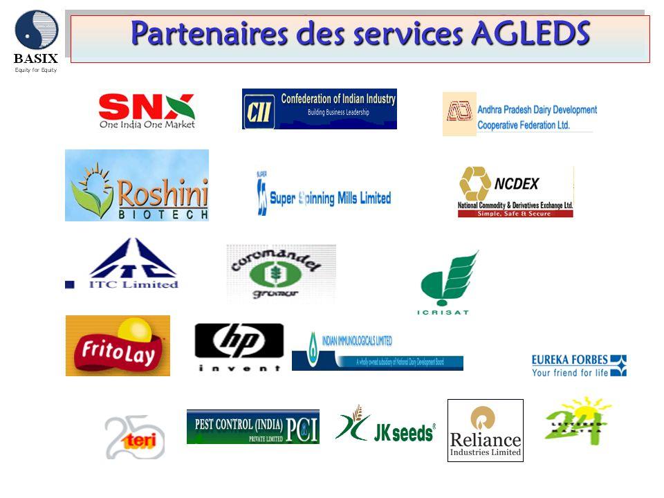 Partenaires des services AGLEDS