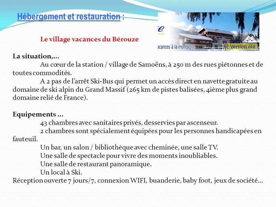 Le village vacances du Bérouze