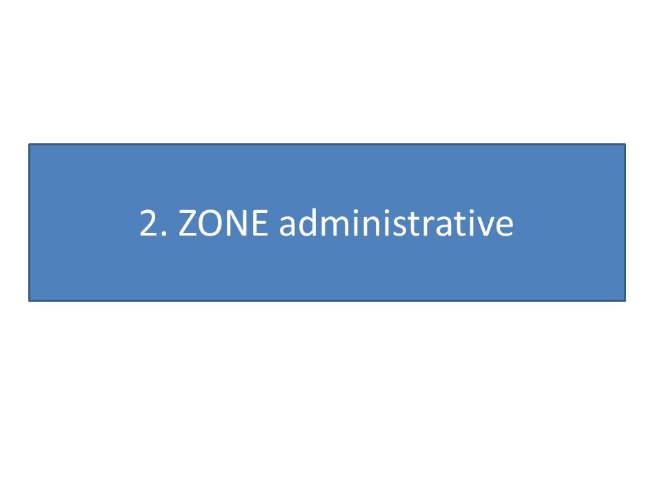 2. ZONE administrative