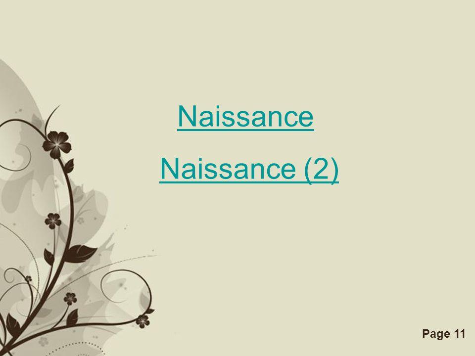 Naissance Naissance (2)