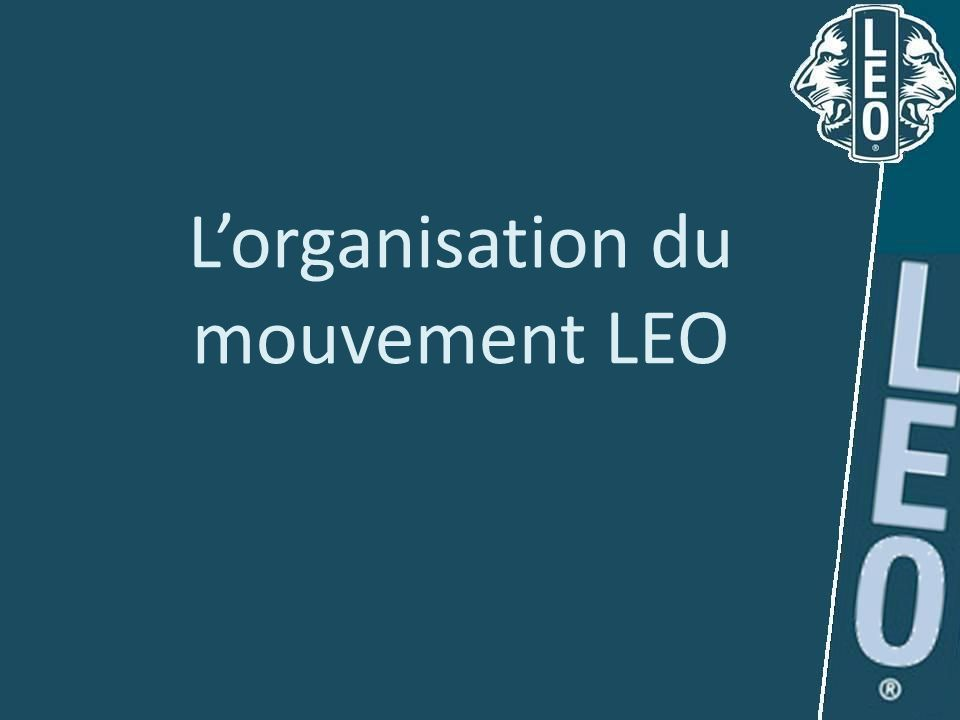 L'organisation du mouvement LEO