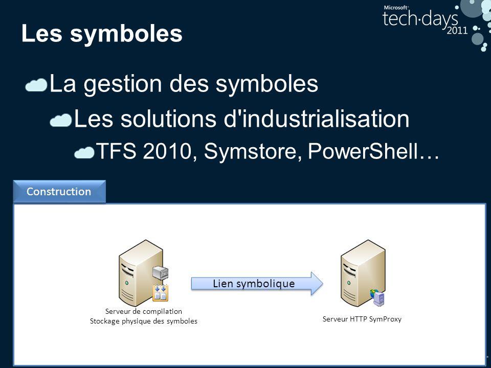 La gestion des symboles Les solutions d industrialisation