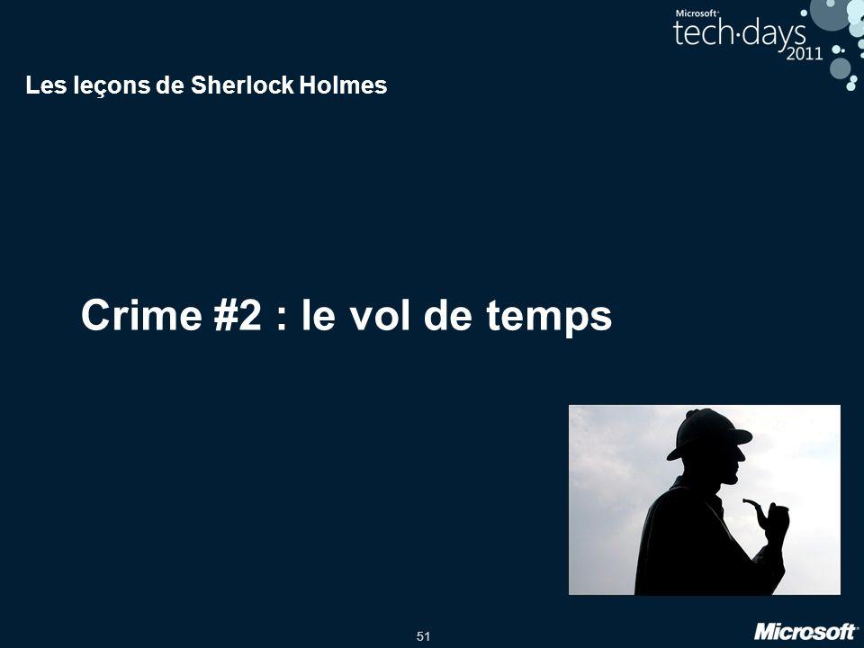 Les leçons de Sherlock Holmes