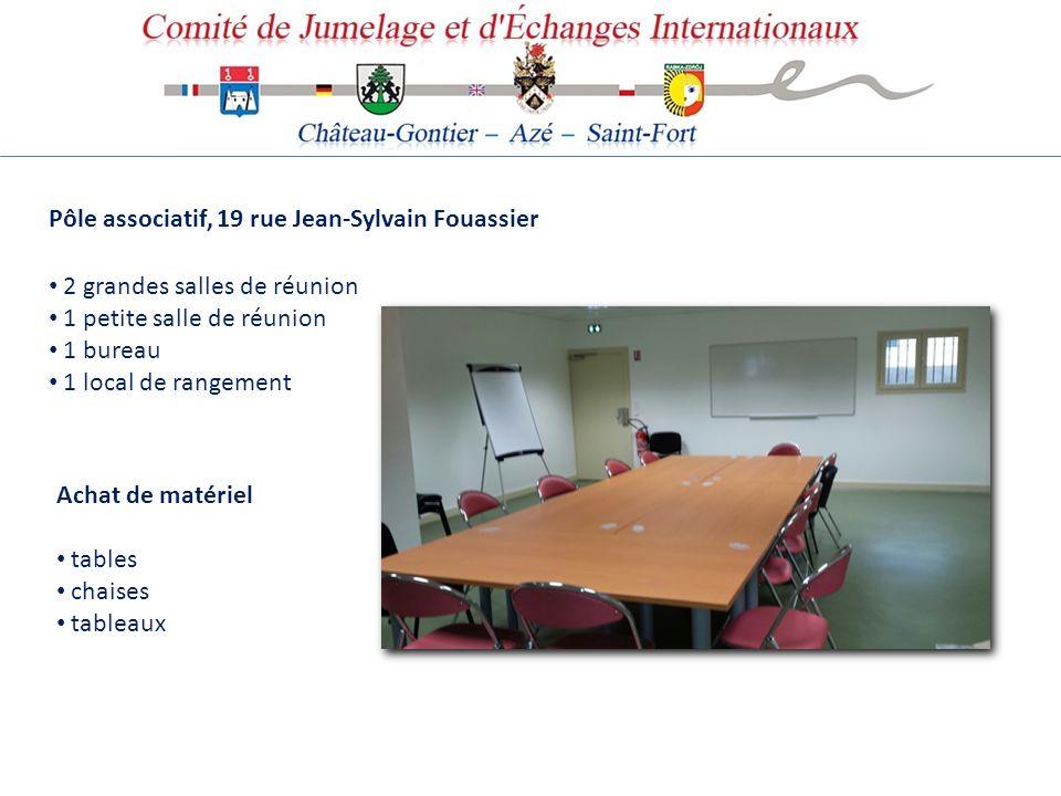 Pôle associatif, 19 rue Jean-Sylvain Fouassier