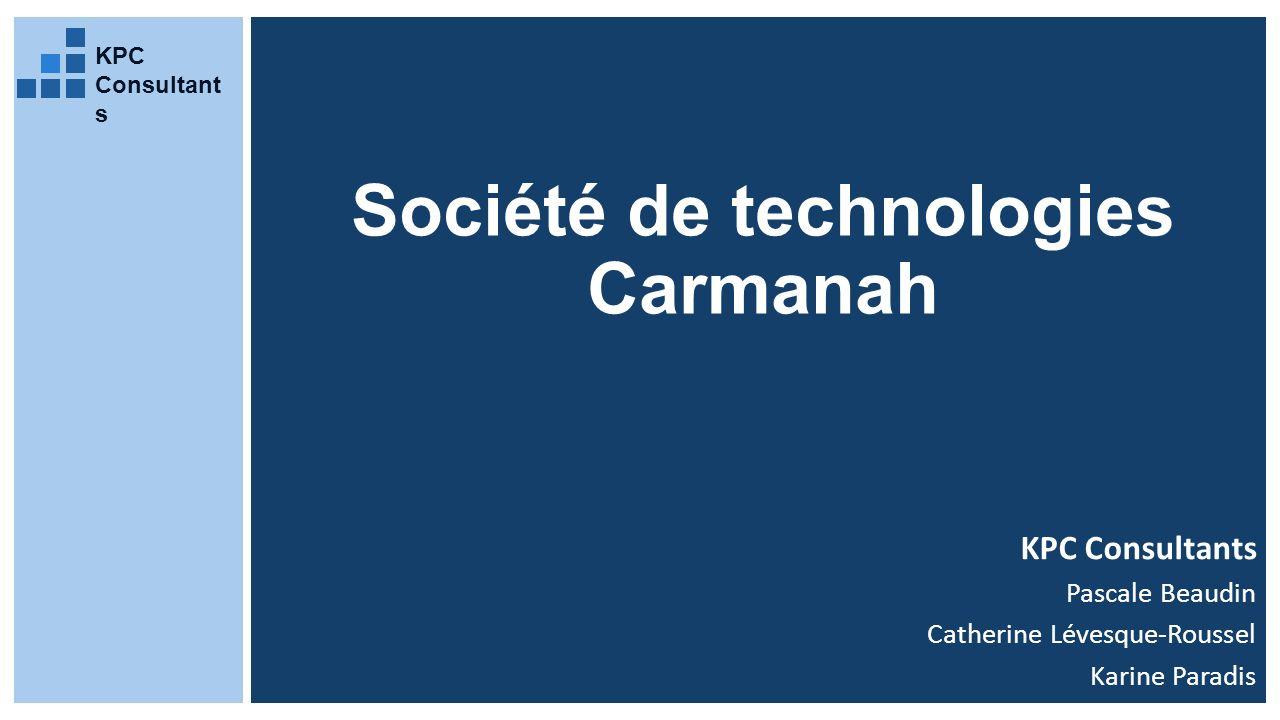 Société de technologies Carmanah