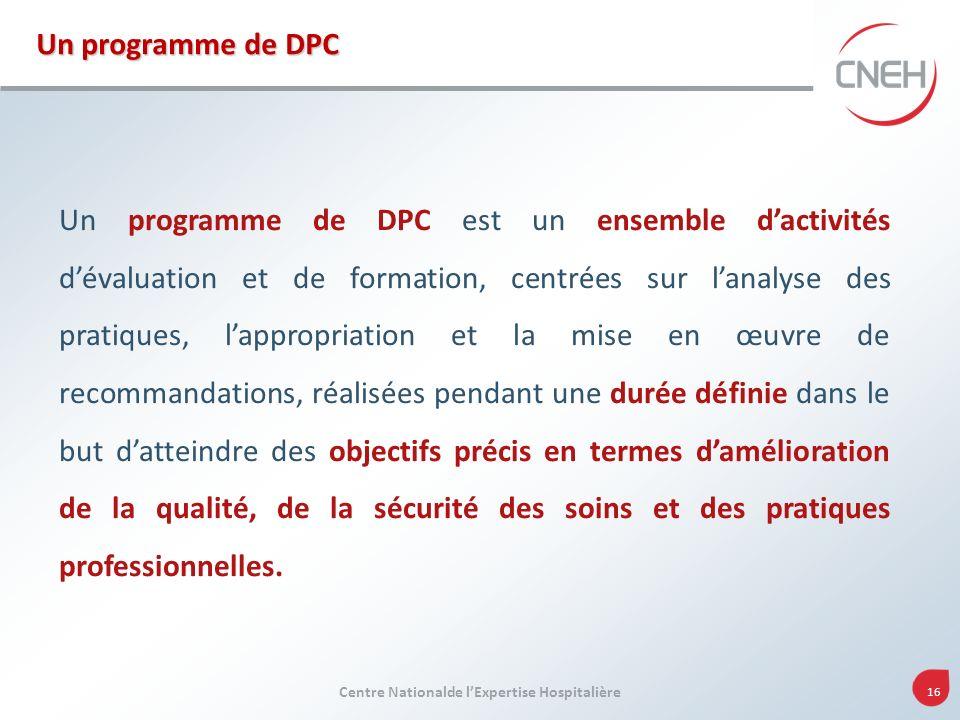 Un programme de DPC