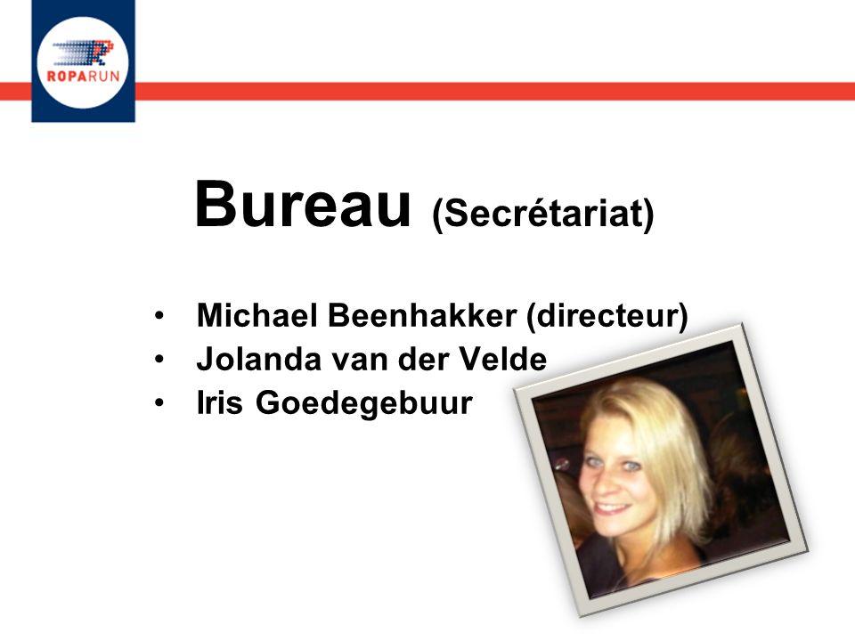 Michael Beenhakker (directeur) Jolanda van der Velde Iris Goedegebuur