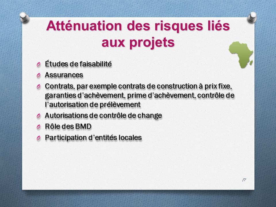 Atténuation des risques liés aux projets