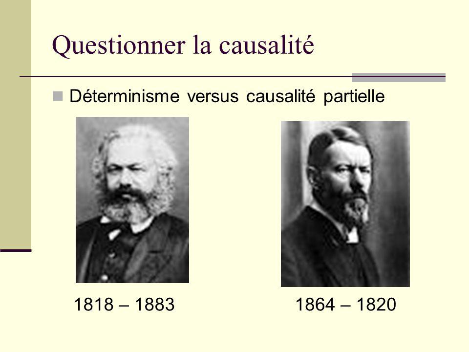 Questionner la causalité