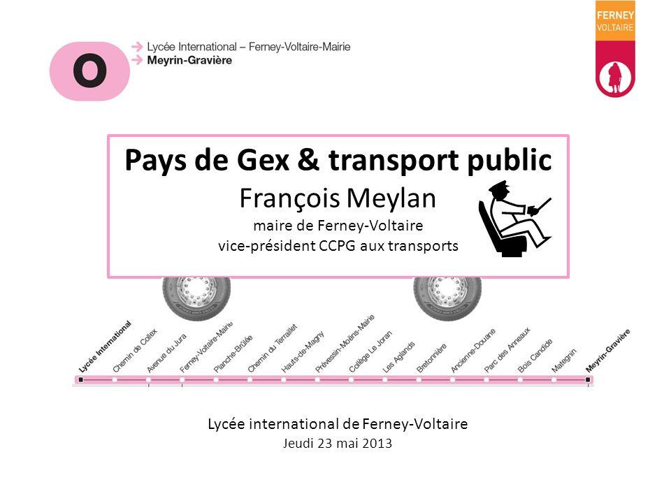 Pays de Gex & transport public