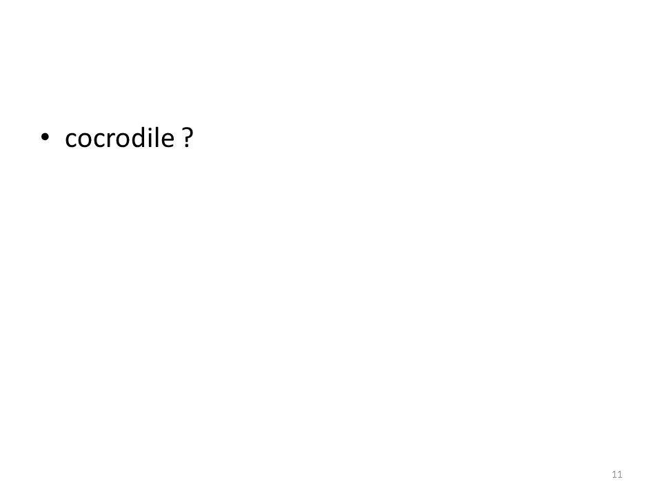 cocrodile