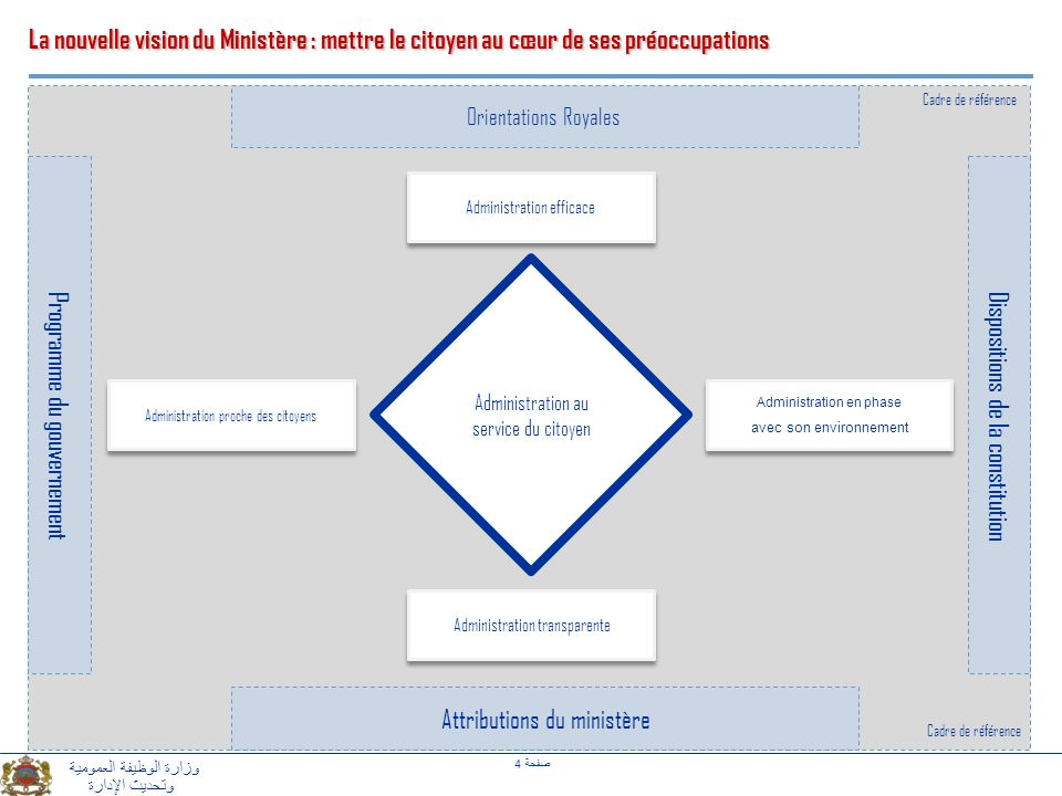 Programme du gouvernement Dispositions de la constitution