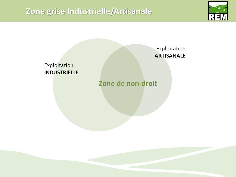 Zone grise Industrielle/Artisanale
