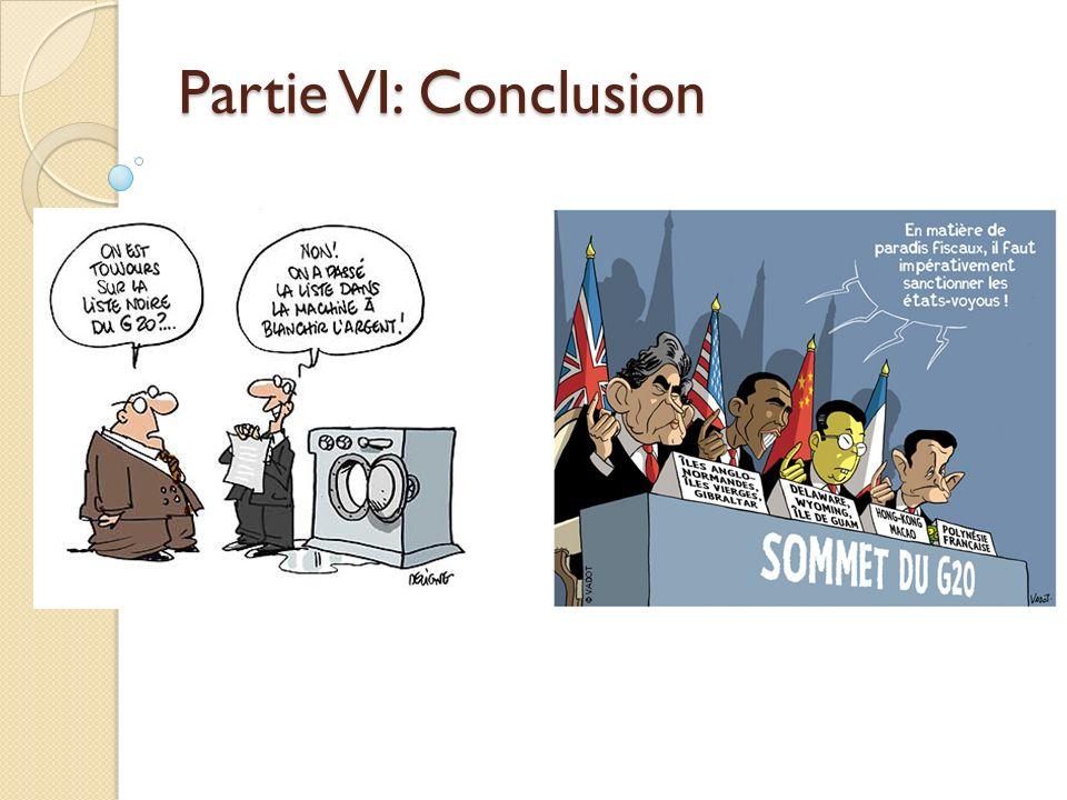 Partie VI: Conclusion
