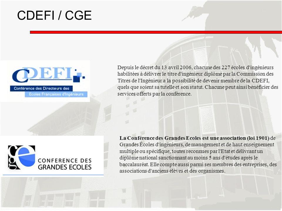 CDEFI / CGE