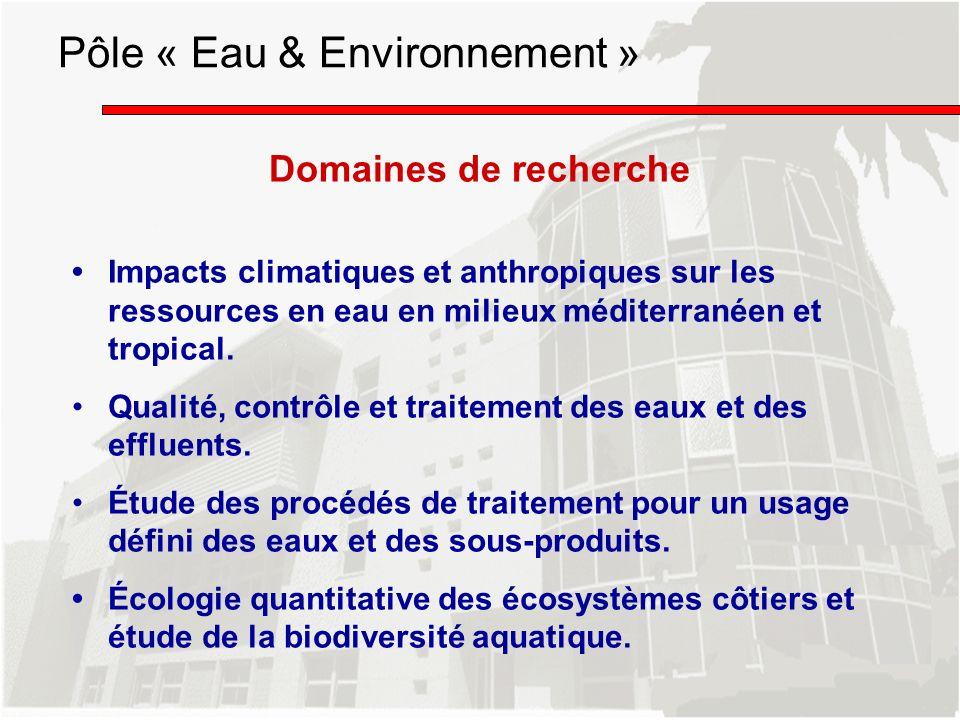 Pôle « Eau & Environnement »