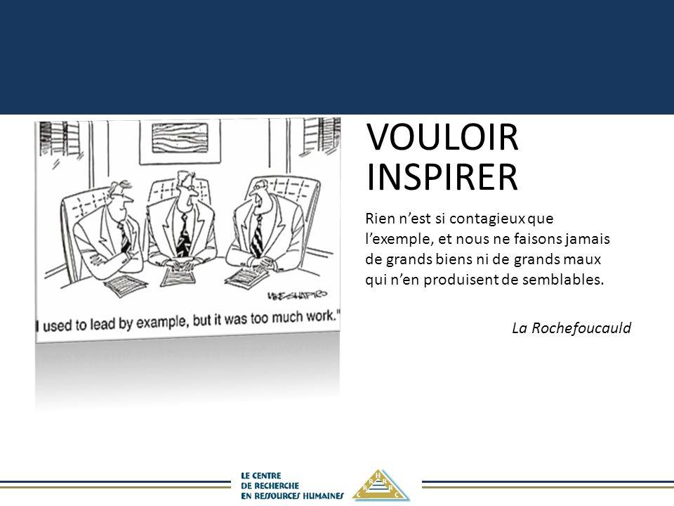 VOULOIR INSPIRER