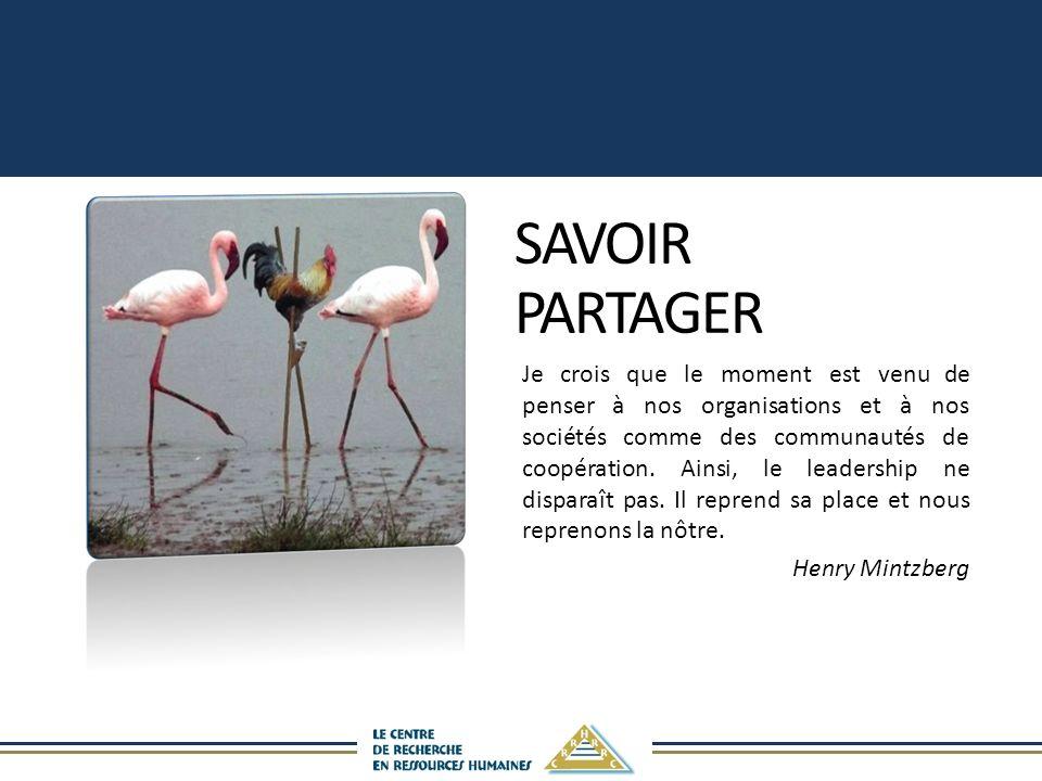 SAVOIR PARTAGER.