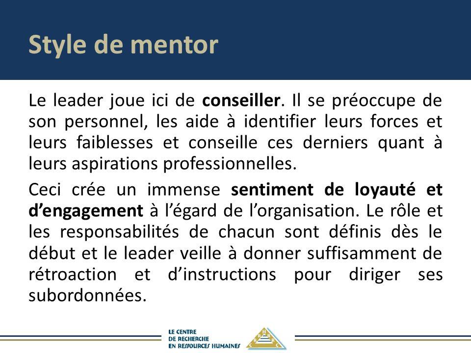 Style de mentor