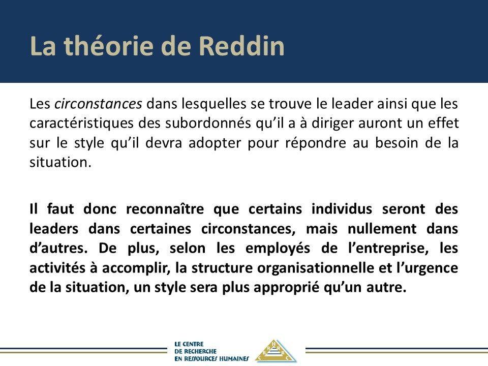 La théorie de Reddin