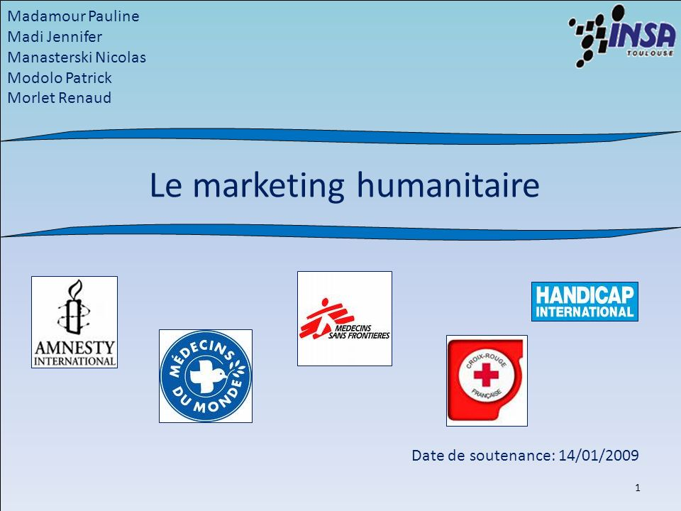 Le marketing humanitaire