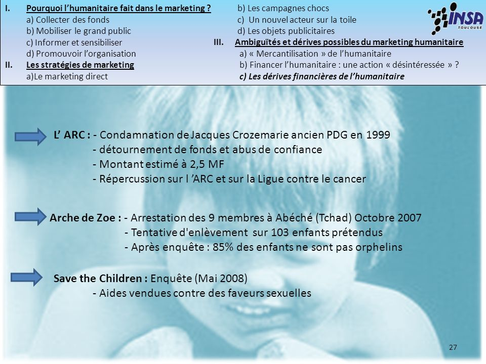 L' ARC : - Condamnation de Jacques Crozemarie ancien PDG en 1999