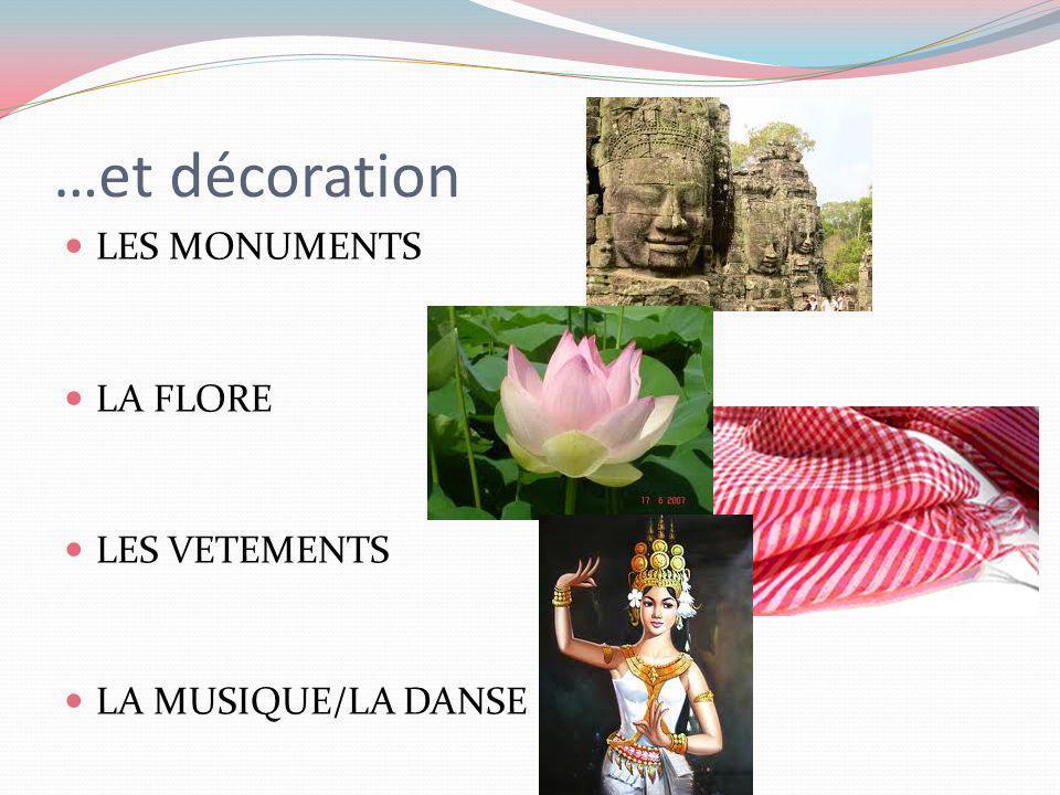 …et décoration LES MONUMENTS LA FLORE LES VETEMENTS