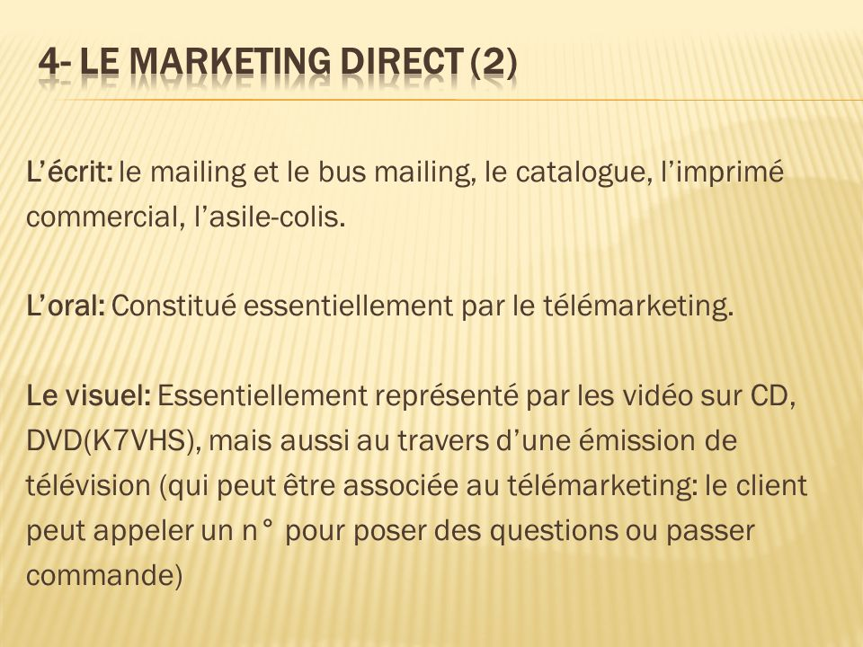 4- LE MARKETING DIRECT (2)