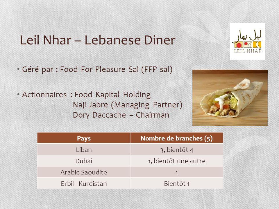 Leil Nhar – Lebanese Diner