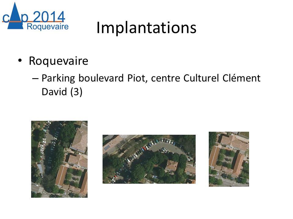 Implantations Roquevaire