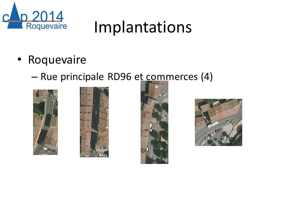 Implantations Roquevaire Rue principale RD96 et commerces (4)