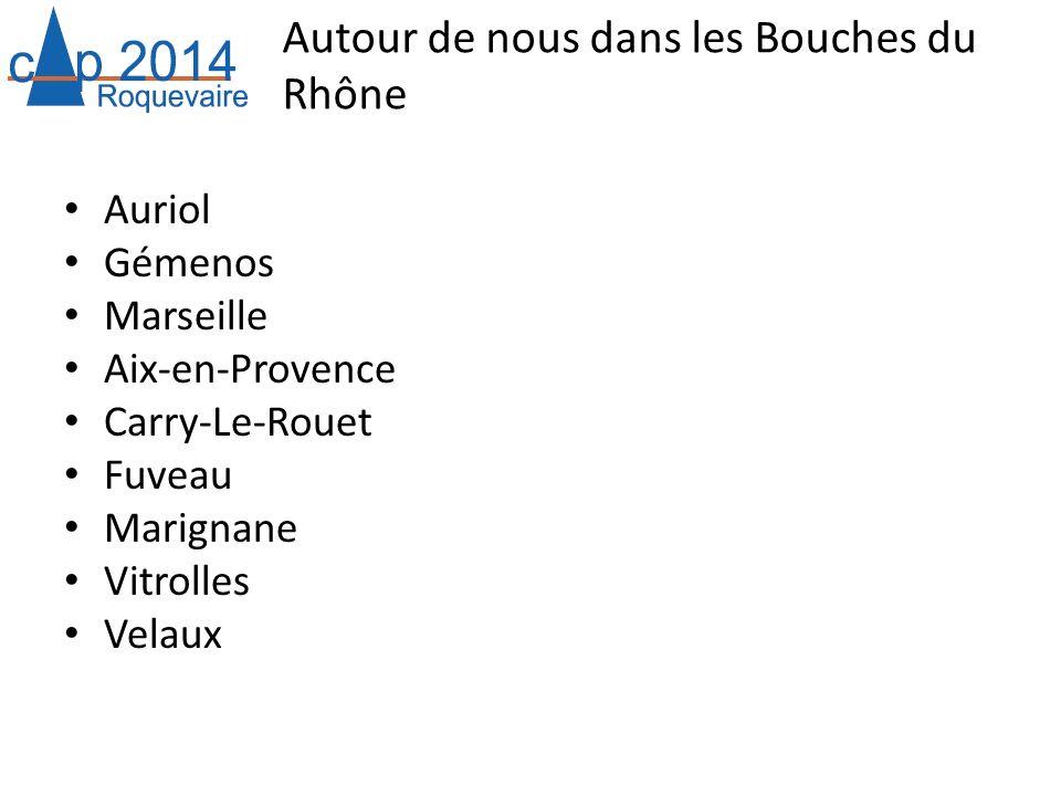 Autour de nous dans les Bouches du Rhône