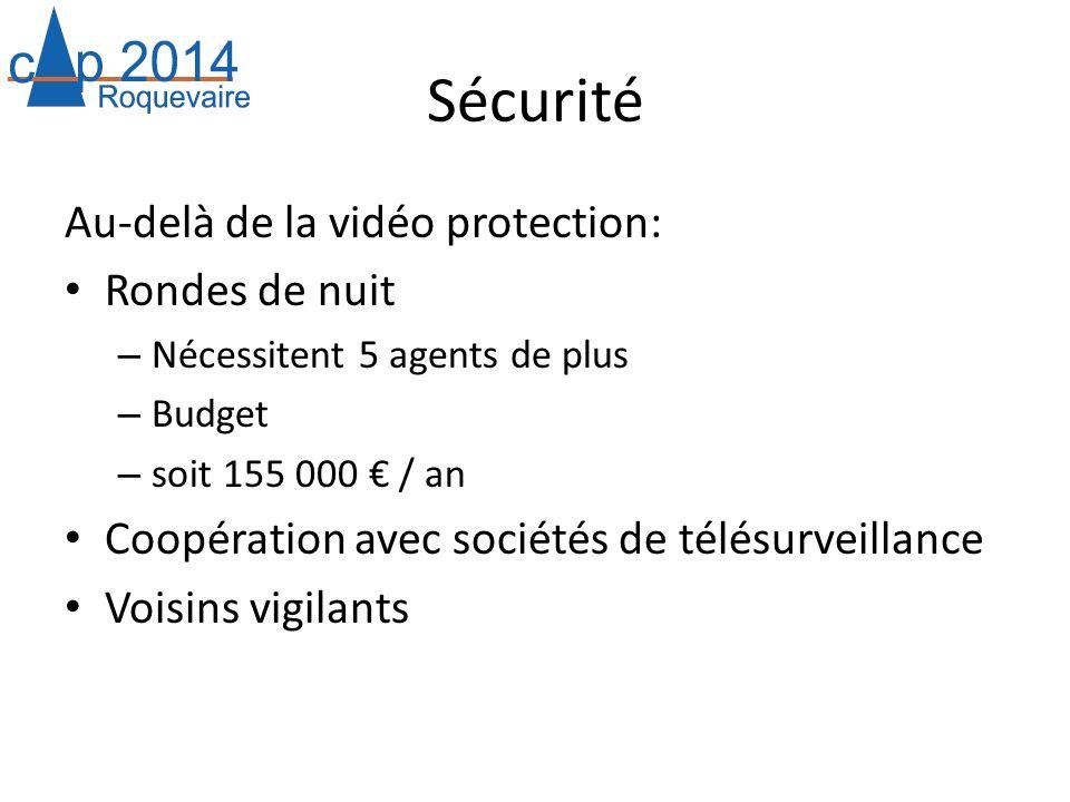Sécurité Au-delà de la vidéo protection: Rondes de nuit