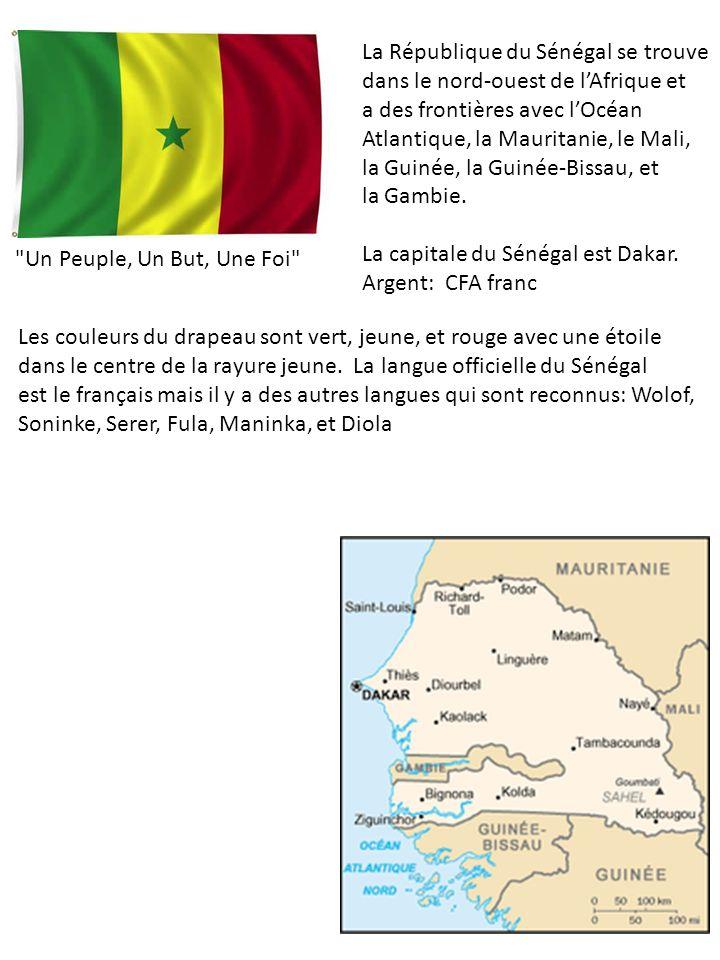 La République du Sénégal se trouve