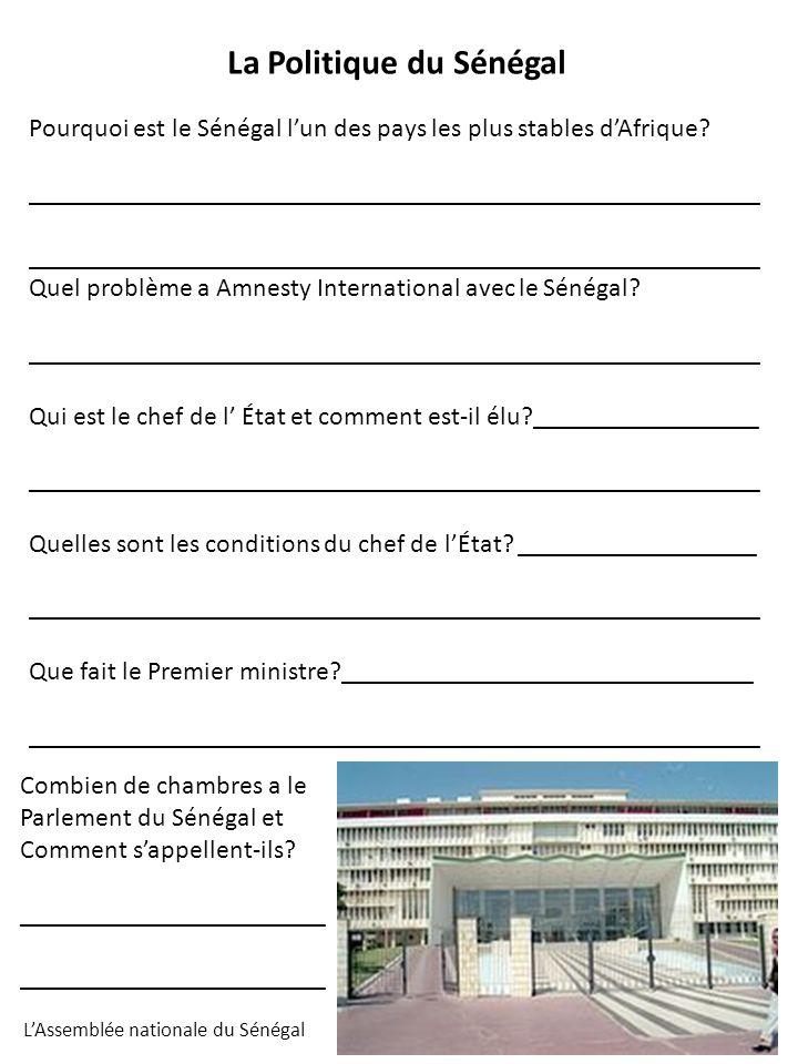 La Politique du Sénégal