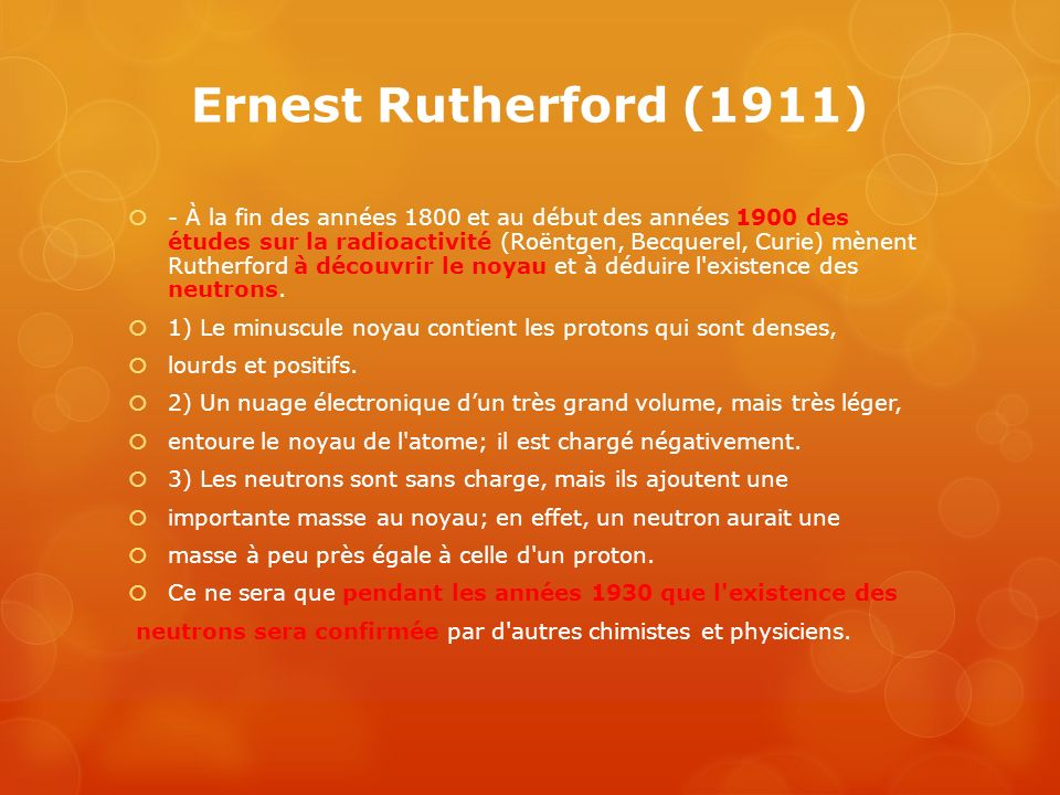 Ernest Rutherford (1911)