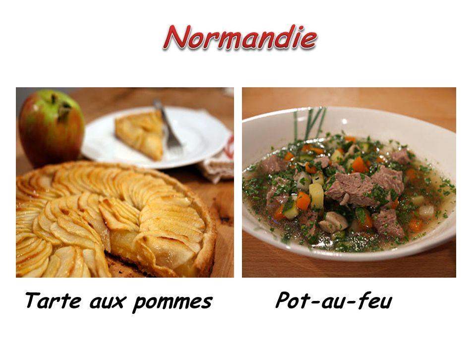 Normandie Tarte aux pommes Pot-au-feu