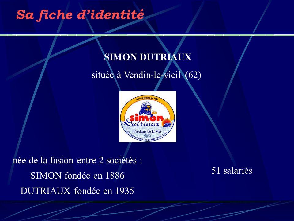 Sa fiche d'identité SIMON DUTRIAUX située à Vendin-le-vieil (62)