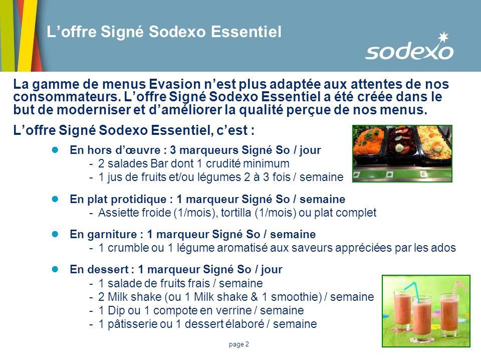 L'offre Signé Sodexo Essentiel
