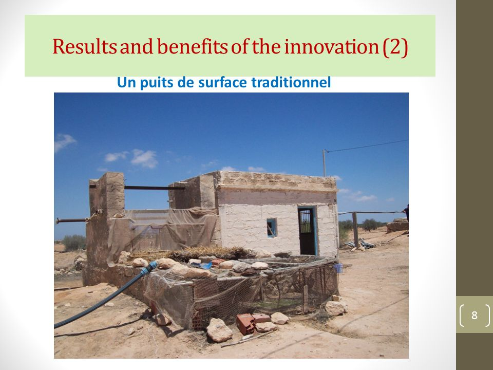 Results and benefits of the innovation (2)