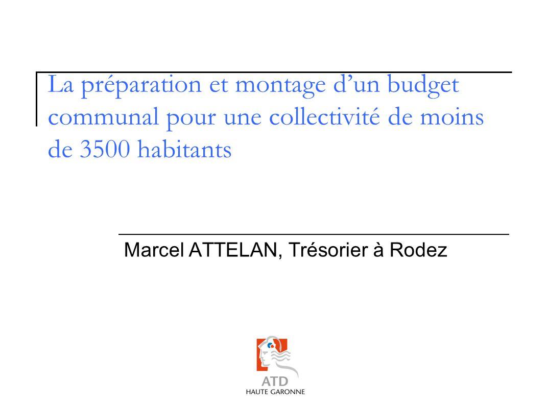 Intitulé de la formation Marcel ATTELAN, Trésorier à Rodez
