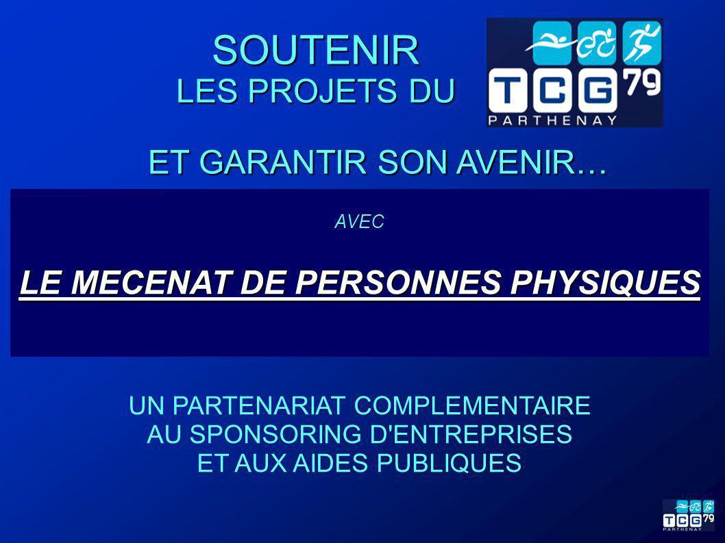 LE MECENAT DE PERSONNES PHYSIQUES