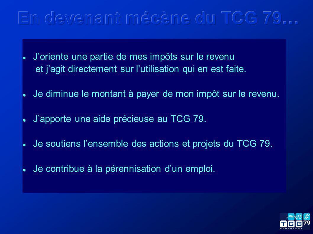 En devenant mécène du TCG 79…