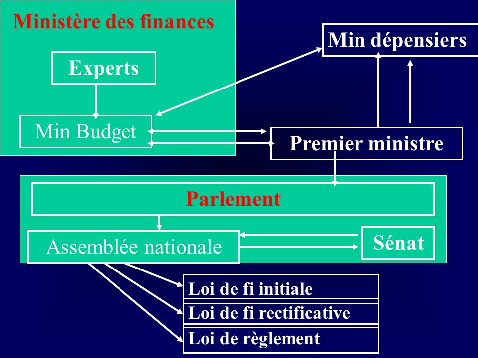 Experts Premier ministre Parlement Sénat