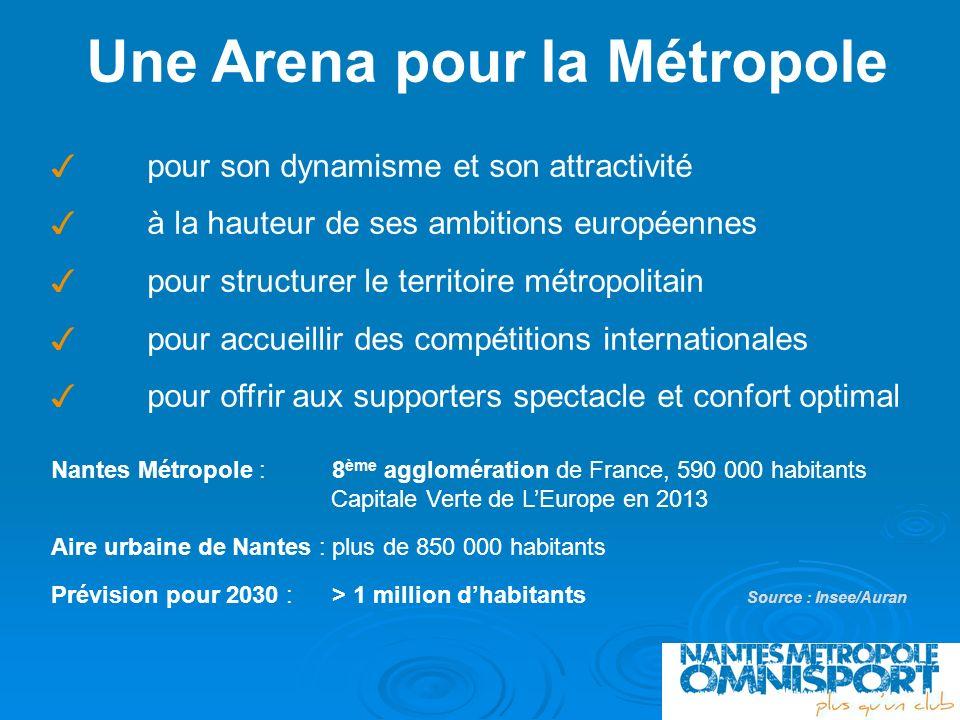 Une Arena pour la Métropole