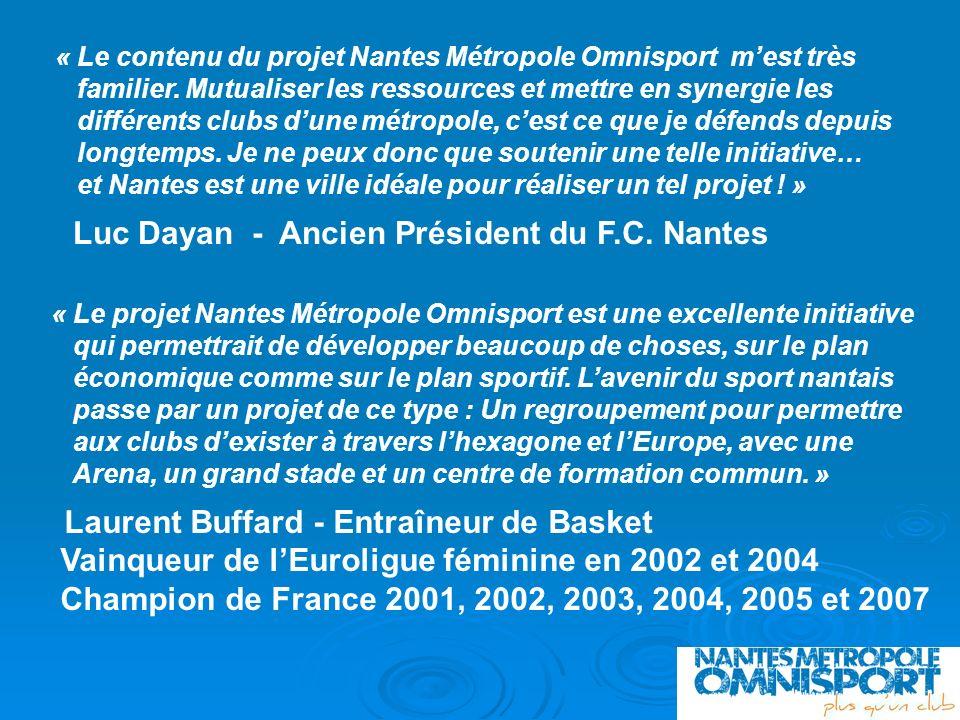Luc Dayan - Ancien Président du F.C. Nantes
